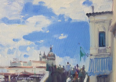 Scottish Artist Joe HARGAN - Venice Visited