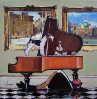 Scottish Artist Joe HARGAN - Pianissimo