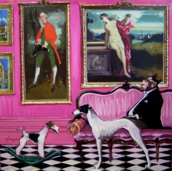 Scottish Artist Joe HARGAN - In the Grand Manner