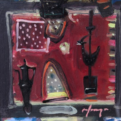 Joe HARGAN - Still life with Black Jug