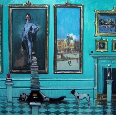 Scottish Artist Joe HARGAN - The Exhibitionists