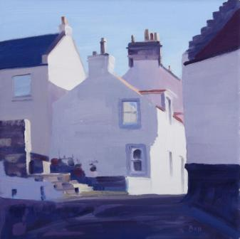 John BELL - Morning Light on Pittenweem