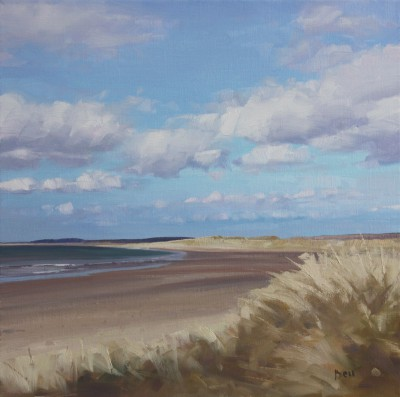 Scottish Artist John BELL - The Big Strand, Islay