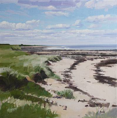 Scottish Artist John BELL - Kings Barns Beach