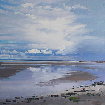 Scottish Artist John BELL - North Beach, Troon