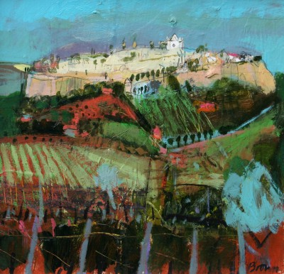 Scottish Artist John BROWN - Orvieto