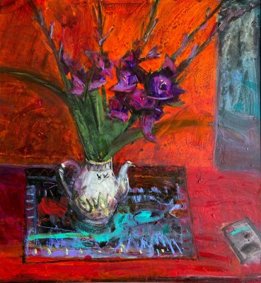 Scottish Artist John BROWN - Gladioli