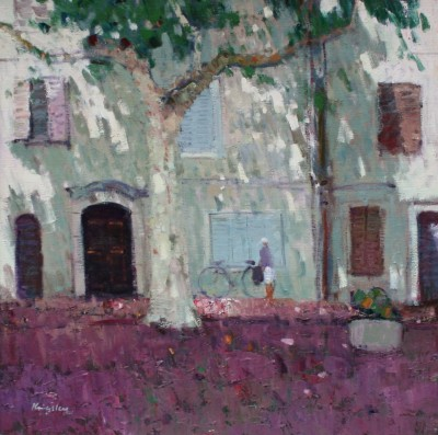 John KINGSLEY - Shaded Street, Brignoles