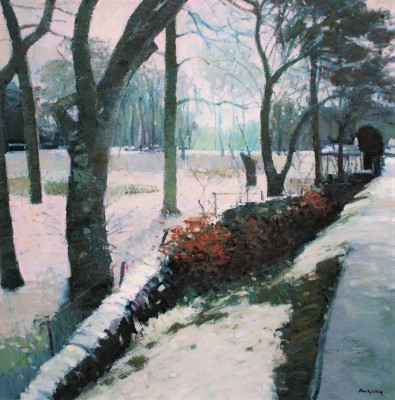 John KINGSLEY PAI RSW  - Winter Trees, Strachur