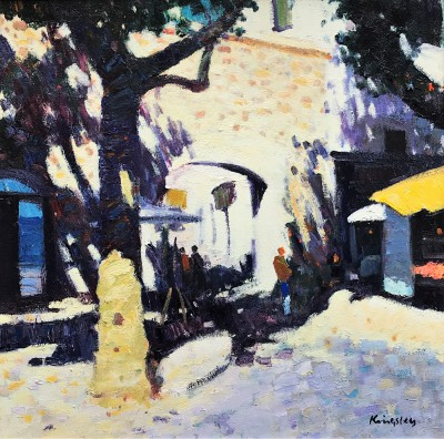 John KINGSLEY PAI RSW , contemporary artist - Archway, Collioure