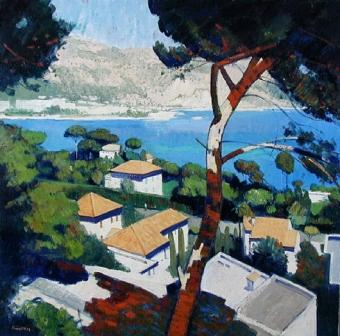 Scottish Artist John KINGSLEY - Cap Ferrat