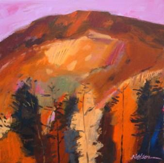 Scottish Artist John NELSON - Black Mountain