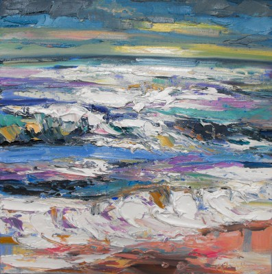 Scottish Artist Judith BRIDGLAND - Light on the Sea