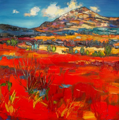 Judith BRIDGLAND - Red Moorland, Glen Lochy