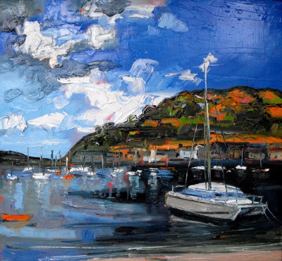 Scottish Artist Judith BRIDGLAND - Peaceful Harbour