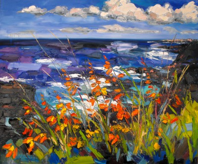 Scottish Artist Judith BRIDGLAND - Across to Portrush