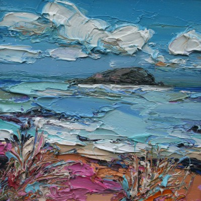 Scottish Artist Judith BRIDGLAND - Lamb Island