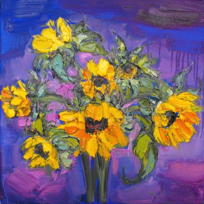 Judith BRIDGLAND - Beautiful Sunflowers