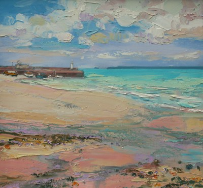 Judith BRIDGLAND - Low Tide St Ives