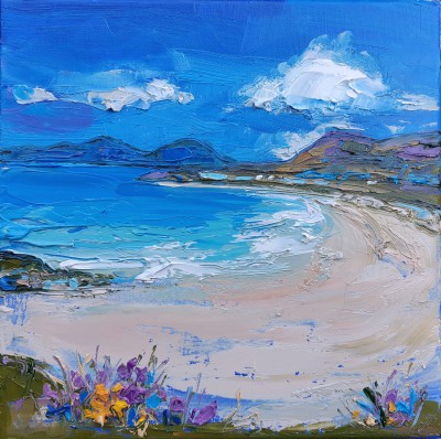 Judith BRIDGLAND - Seilboste in Sunshine, Harris