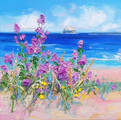 Judith BRIDGLAND - In the Dunes, Bass Rock
