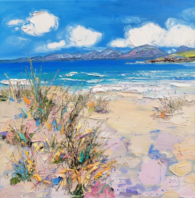 Judith BRIDGLAND - Down to the Beach, Harris