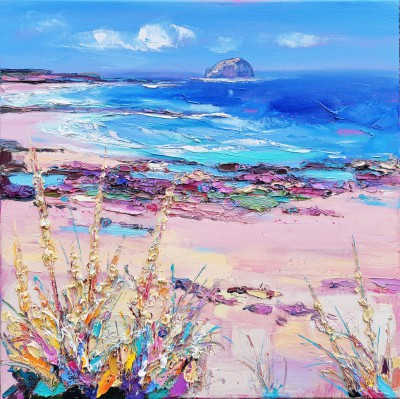 Judith BRIDGLAND - Sea Grasses, Bass Rock