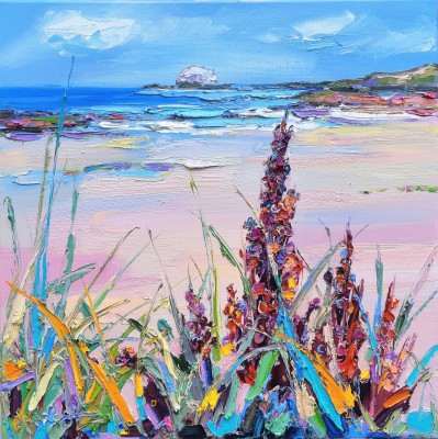 Scottish Artist Judith BRIDGLAND - Marram Grass, North Berwick