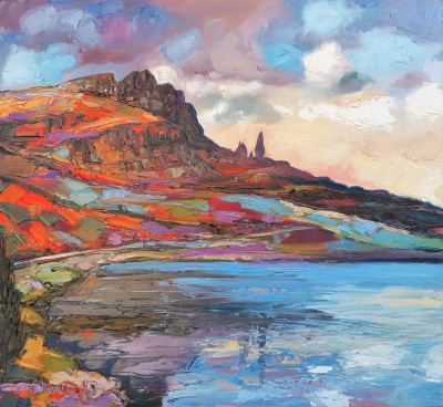 Judith BRIDGLAND - Road towards Trotternish, Skye