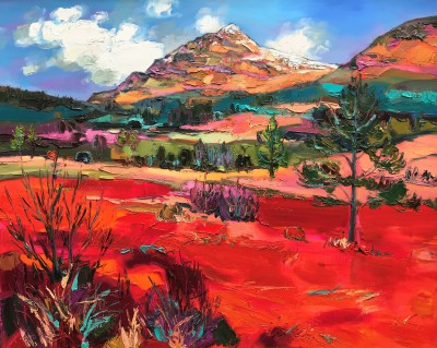 Scottish Artist Judith BRIDGLAND - Glen Lochy