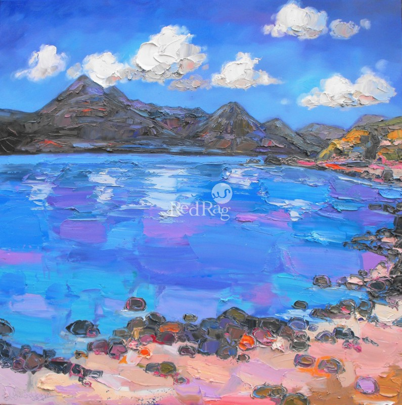 Judith BRIDGLAND - Clouds over the Cuillins at Elgol