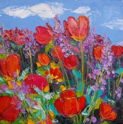 Judith BRIDGLAND - Bed of Tulips