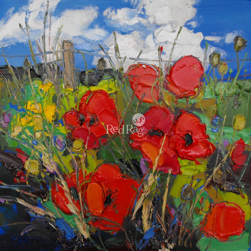 Judith BRIDGLAND - East Coast Poppies