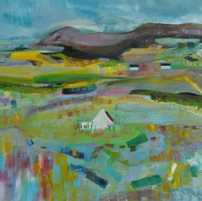 Scottish Artist Katherine SWINFEN EADY - Island Farm