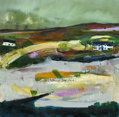 Scottish Artist Katherine SWINFEN EADY - Night Stealing in Ardnamurchan