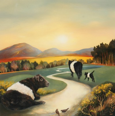 Lesley McLAREN - Belties in the Morning Light