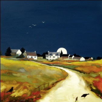 Lesley McLAREN - Farmstead at Dusk