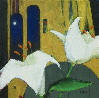 Scottish Artist Liz KNOX - Night Lilies