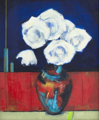 Scottish Artist Liz KNOX - Roses