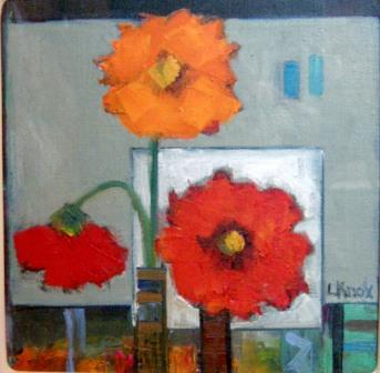 Scottish Artist Liz KNOX - Gerbera