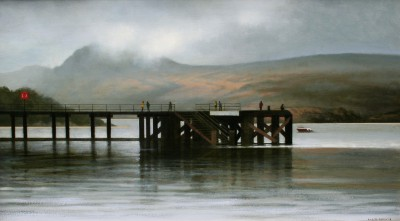 Scottish Artist Louis S McNALLY - Lomond Noir