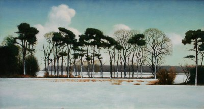 Scottish Artist Louis S McNALLY - Snowscene