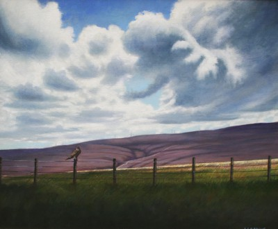 Scottish Artist Louis S McNALLY - Borderland
