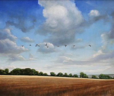 Scottish Artist Louis S McNALLY - The Field
