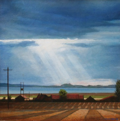 Scottish Artist Louis S McNALLY - Light Rays