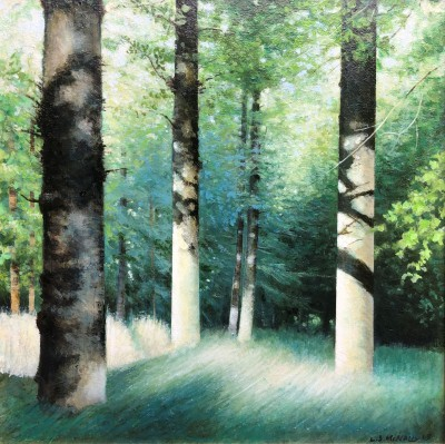 Louis S McNALLY - Blue Woods