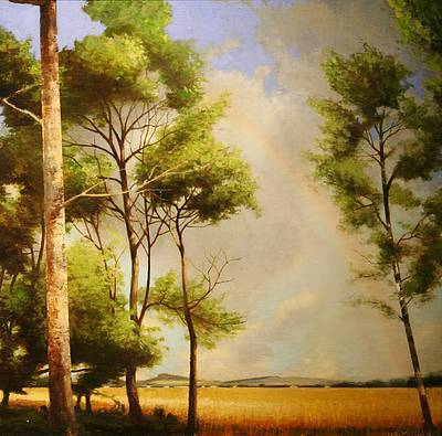 Scottish Artist Louis S McNALLY - A Rainbow