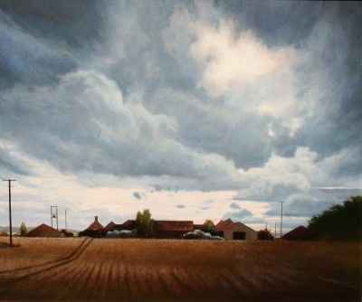 Scottish Artist Louis S McNALLY - Farmland
