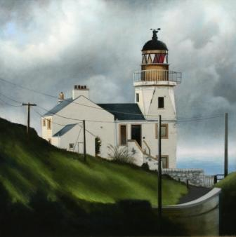 Louis S McNALLY - Lighthouse, Scrabster