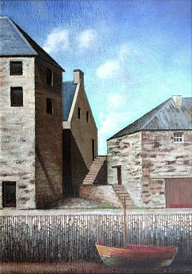 Scottish Artist Louis S McNALLY - Portsoy